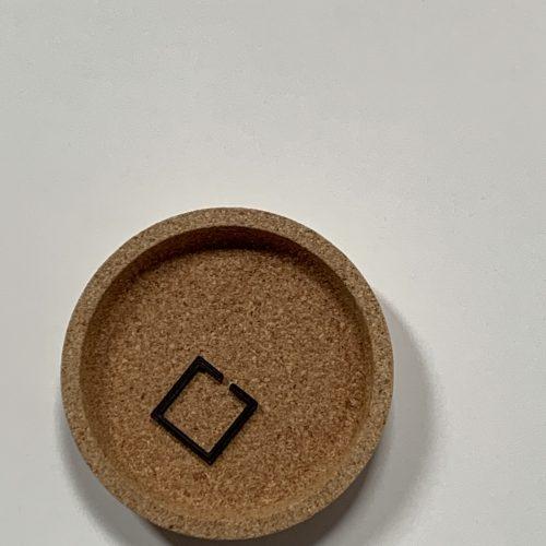 duurzame 3D geprinte geomtrische ring #2