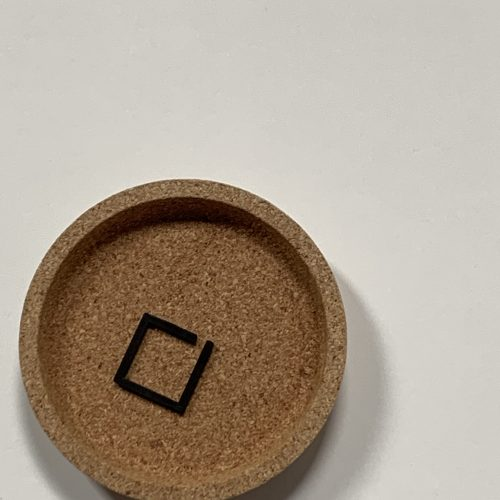duurzame 3d geprinte geometrische ring #3
